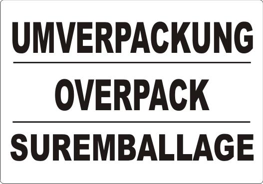 UMVERPACKUNG/ OVERPACK/ SUREMBALLAGE